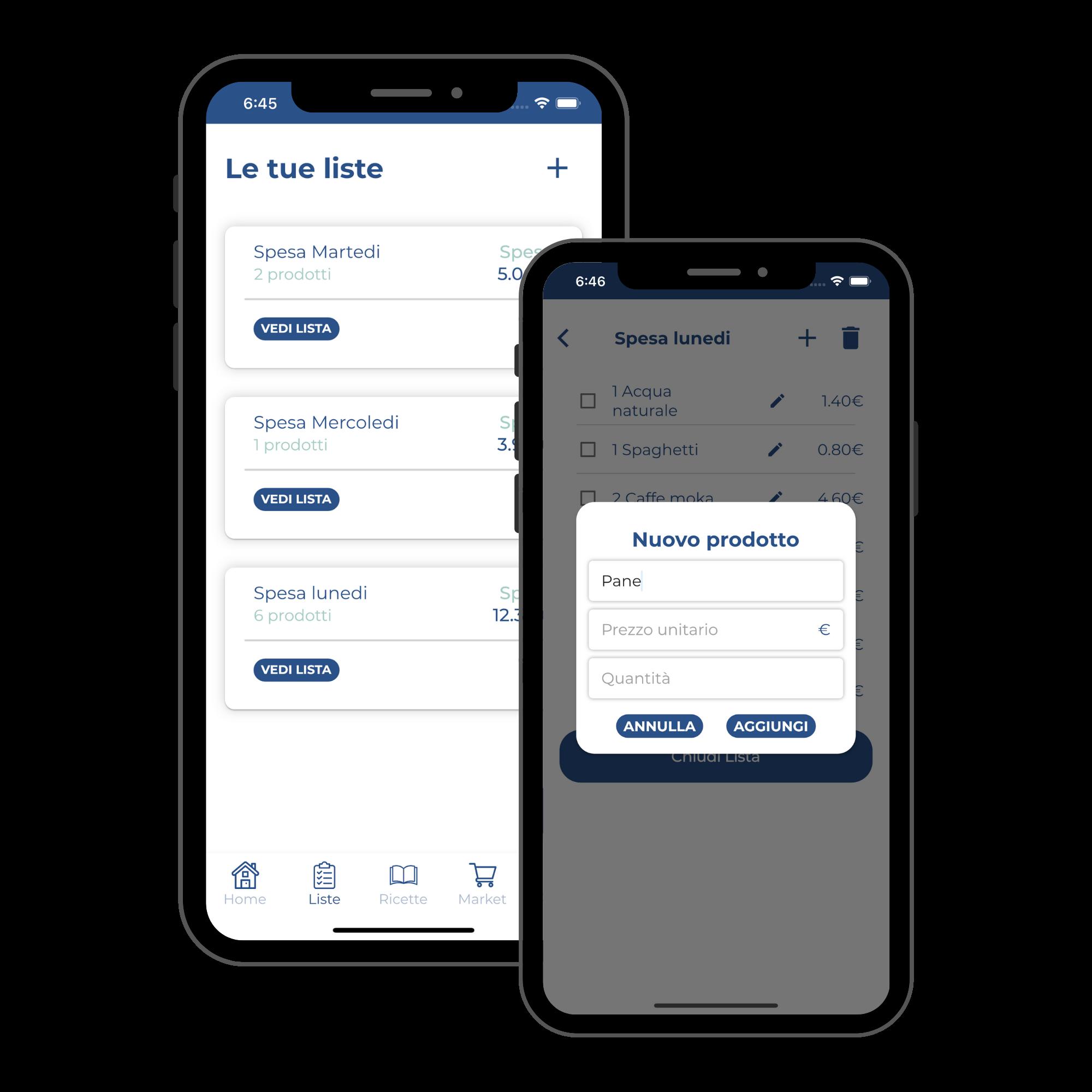 lino salva soldino app per la spesa